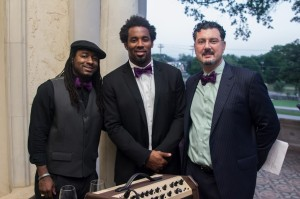 Tank, Dhani Jones & James Frinzi