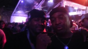 Tank & the R&R HOFer Chuck D of Public Enemy. SXSW 2013